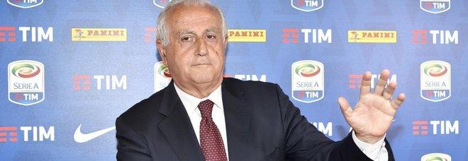 Serie A, Fabbricini: «Ci vorrebbe uno stop del calcio»