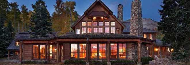 Tom cruise trasloca in vendita la casa di montagna per 59 for Immagini di case di montagna