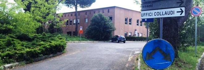 La sede della Motorizzazione di Frosinone