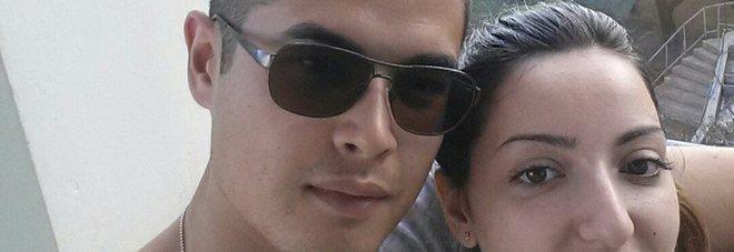 Marco Tanda con la fidanzata Jessica Tinari