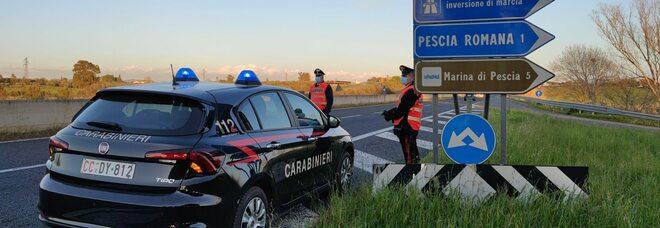 Fermato dai carabinieri con un etto di cocaina, arrestato