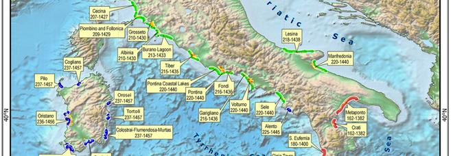 Clima, 7 nuove aree costiere italiane erose entro il 2100 per innalzamento dei mari