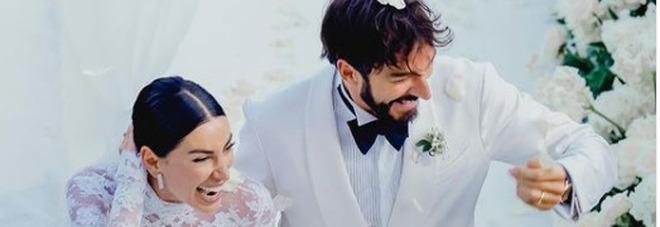 Giorgia Gabriele e Andrea Grilli sposi: il video sulle nozze dell'ex di Gianluca Vacchi