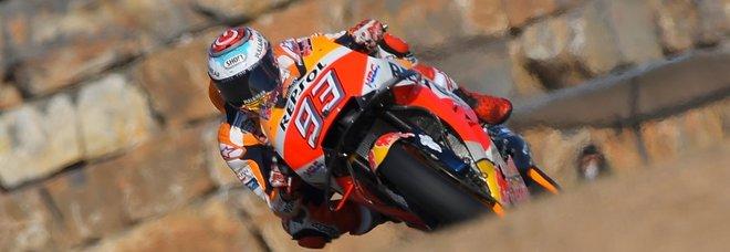 Marquez è il più veloce nelle seconde libere ad Aragon