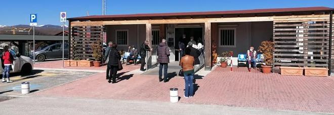 Coronavirus, ad Amatrice le prime 80 vaccinazioni agli over 80 e vulnerabili del posto. Venerdì si replica
