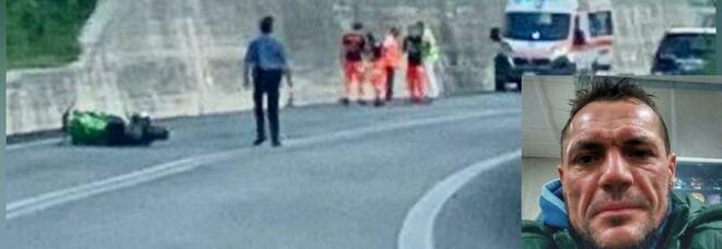 Superstrada del Liri, moto contro camion: muore un 47enne