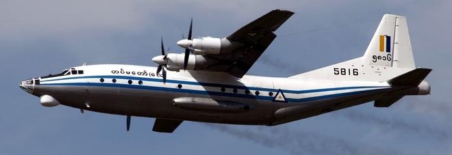 Birmania, ritrovati in mare rottami dell'aereo militare che trasportava 116 civili