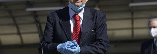 Il direttore dell'ospedalae Spallanzani Ippolito