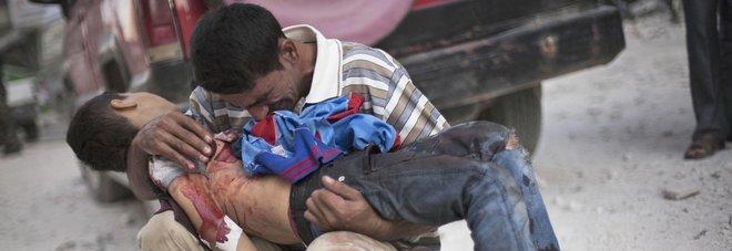 Risultati immagini per FOTO DI SCENE DI GUERRA IN SIRIA