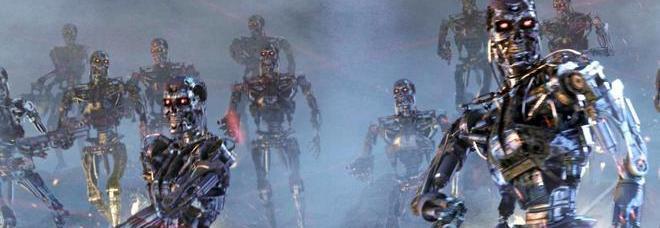 Una scena di Terminator 3