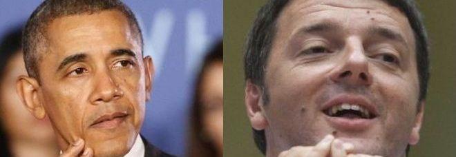 Barack Obama - Matteo Renzi