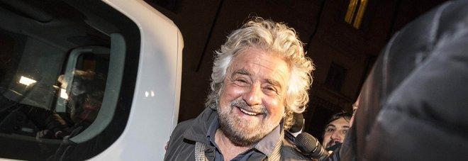 Beppe Grillo a Roma: «Salvini? Se dice una cosa la mantiene»