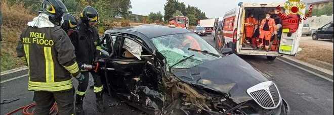 Incidente sulla variante Appia a Formia: diversi feriti, strada chiusa