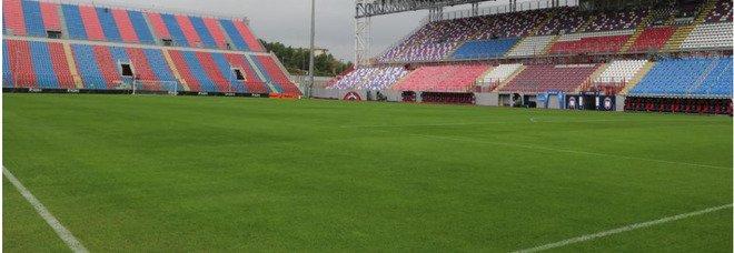 Crotone-Lazio, delegato della Lega Serie A allo stadio: campo in perfette condizioni, si gioca