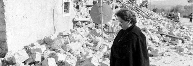 Il terremoto dell'Irpinia nel 1980