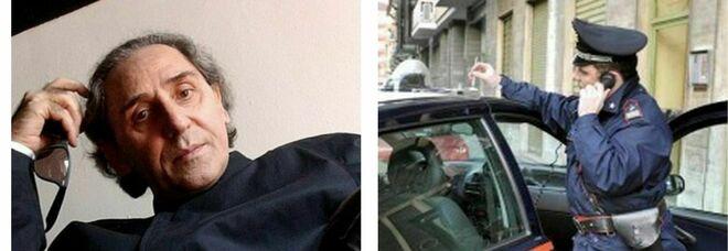Battiato, invia un verso del cantautore alla moglie: la donna pensa a un tentato suicidio e arrivano i carabinieri