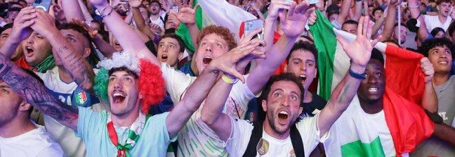Europei 2020, Belgio-Italia da record in tv: oltre 17 milioni di spettatori, share del 65,2%