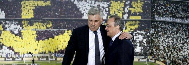 Carlo Ancelotti e Florentino Perez
