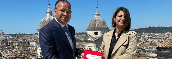 Libia, ministra degli Esteri incontra a Roma il vicepresidente del gruppo San Donato