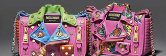 Insolite, colorate e divertenti: le nuove Biker bag di Moschino