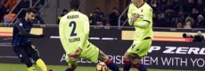 Candreva porta l'Inter ai quarti