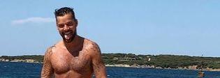 Ricky Martin, vacanze romantiche con il compagno in Costa Smeralda