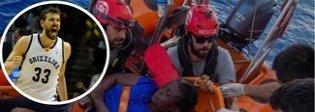 Marc Gasol, il campione di basket (da 20 milioni di dollari) che salva i migranti sulla Open Arms