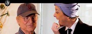 """Nadia Toffa in tv col turbante a """"Le Iene"""". il primo servizio è con Terence Hill"""