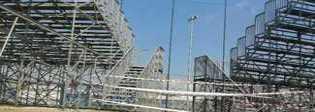 Latina, dissequestrata la tribuna ospiti dello stadio Francioni