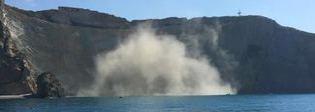 Ponza, crollo a Chiaia di Luna tre turisti salvi per miracolo