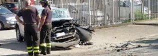 Scontro frontale sulla Nettunense: muore una donna, tre feriti Foto