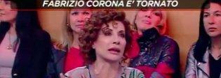 Alda D'Eusanio e la lite con Fabrizio Corona: «Smettetela di scambiarlo per un eroe»