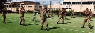 Combattimento corpo a corpo, l'addestramento per gli allievi marescialli