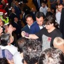 Salvini and the selfie at the state funeral in Genoa, anger on the web: