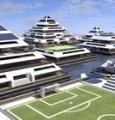 Waya, ecco la città galleggiante a forma di piramide ideata da un designer viterbese
