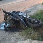 Scontro tra moto e auto, muore motociclista di 28 anni