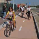 Fiumicino, iniziati i lavori per prolungare la pista ciclabile