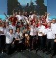 La festa in casa Audi dopo l'insperato titolo a New York