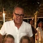 Alessia Marcuzzi incontra per caso Tom Hanks in Grecia: «Un'emozione incredibile»