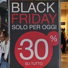 Il Black Friday italiano movimenterà un giro d'affari di 1,5 miliardi