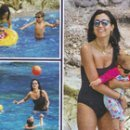 Caterina Balivo mamma felice, a Capri con i figli prima del ritorno in tv
