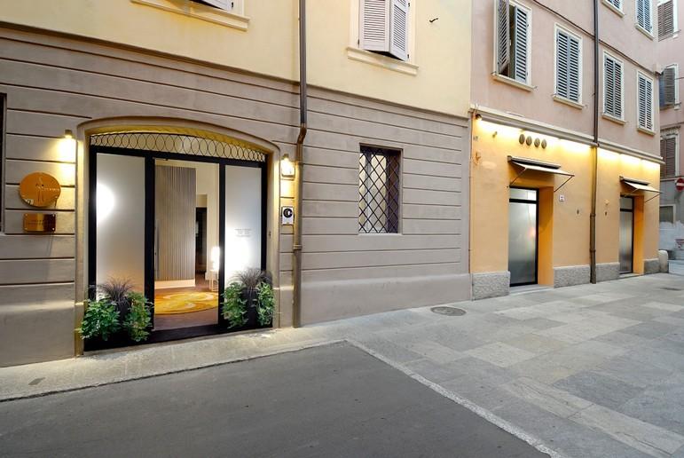 L 39 osteria francescana di bottura eletta miglior ristorante for L esterno di un ristorante