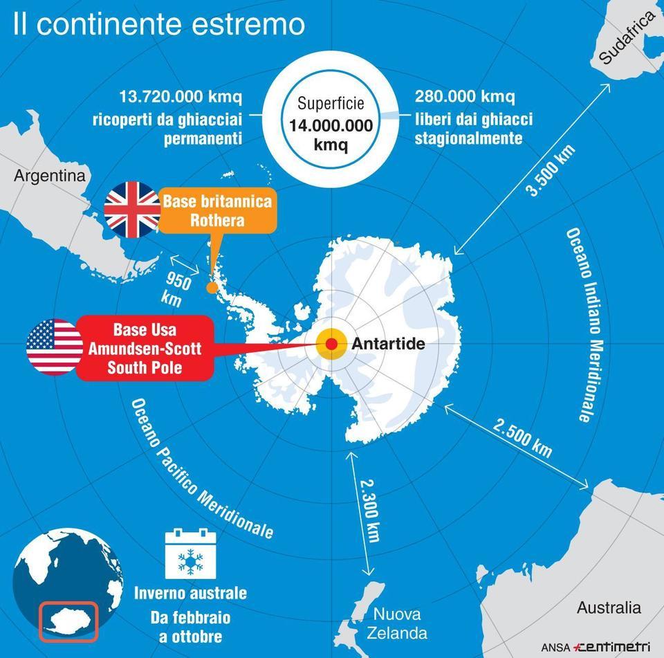 Antartide, ricercatore in fin di vita: scatta la missione di recupero più pericolosa di sempre