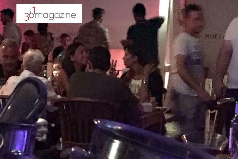 Belen Rodriguez e Marco Borriello ancora insieme, foto al ristorante