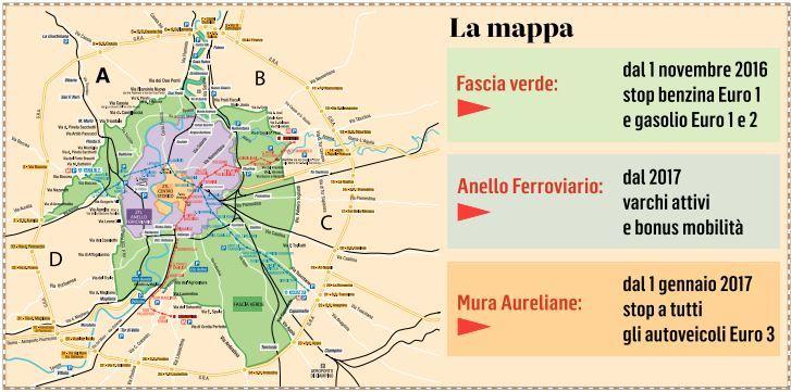 ufficiale più votato spedizioni mondiali gratuite 2019 originale Roma, stretta del piano anti-traffico: via dal Centro anche ...