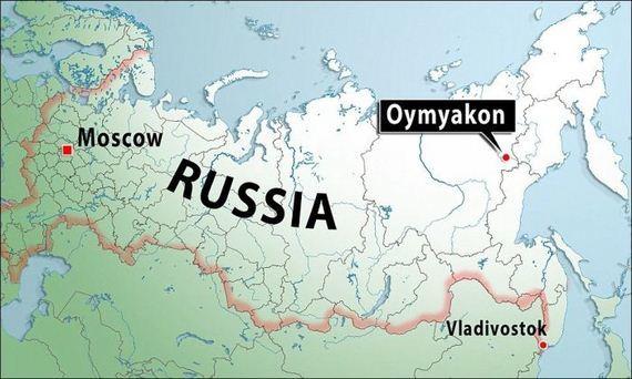 Cartina Russia Siberia.Ojmjakon Siberia Il Villaggio Piu Freddo Del Mondo Termometro A 67 Mappa Come Si Sopravvive Video