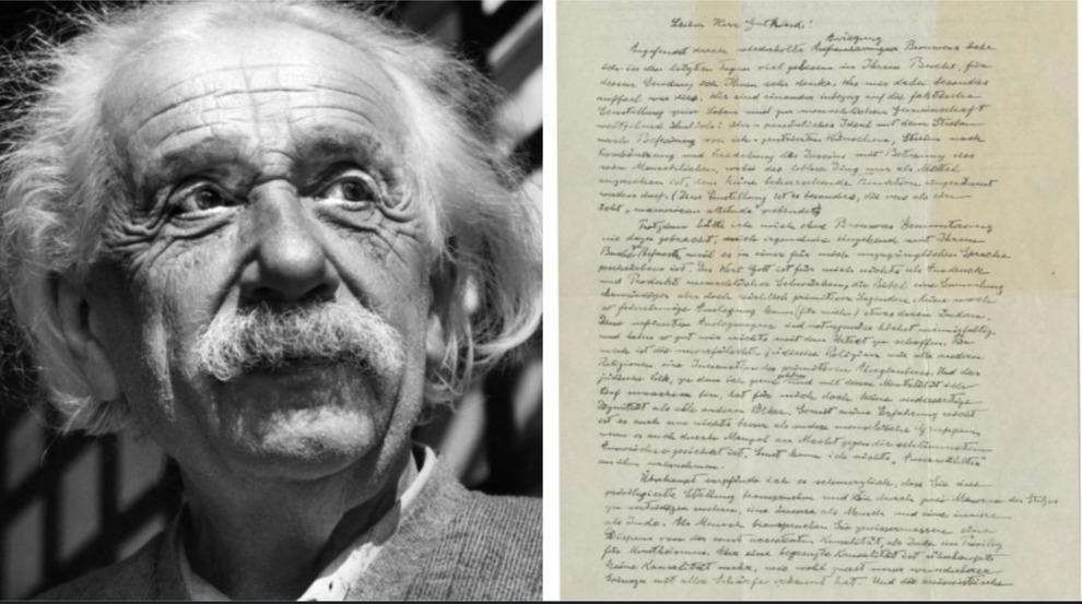 La Lettera Su Dio Di Albert Einstein Venduta All Asta Per
