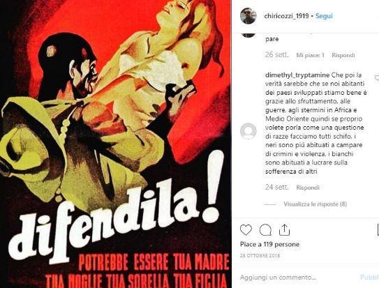 Stupro A Viterbo Quando Chiricozzi Scriveva Su Instagram