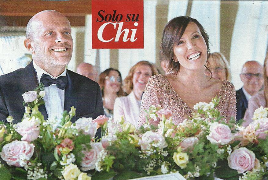 Max Pezzali, matrimonio a 51 anni. Sposa Debora Pelamatti: «È la ...
