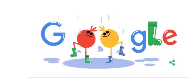 google dedica il doodle agli stivali da pioggia i wellington boots tornano a fare tendenza google dedica il doodle agli stivali da